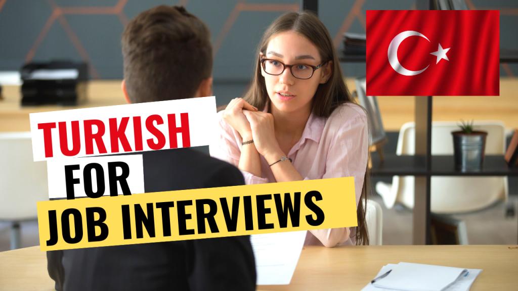 job interview in turkish